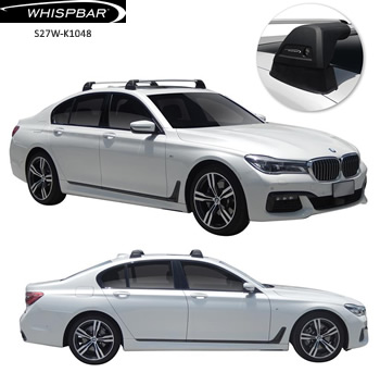BMW 7-Series roof rack Whispbar
