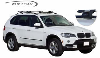 Roof racks BMW X5 roofracks Prorack Whispbar