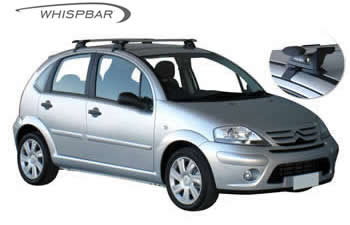 Citroen C3 Roof Racks Prorack Whispbar