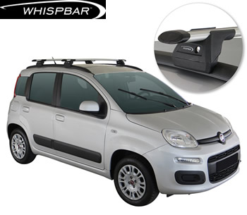 Fiat Panda Whispbar roof racks