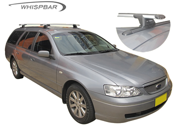 Whispbar roof racks Falcon wagon