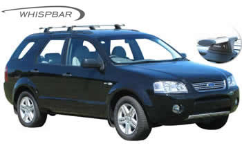 Whispbar roof racks Ford Territory
