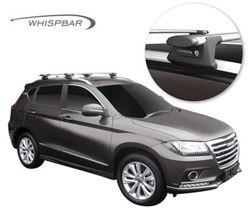 Haval H2 Roof Racks Whispbar S45
