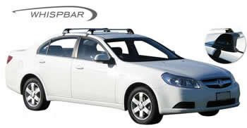 Holden Epica Roof Racks on car