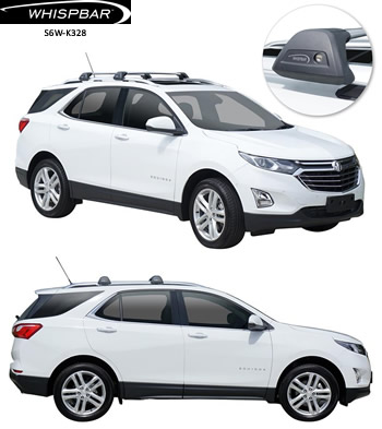 Holden Equinox Whispbar roof racks