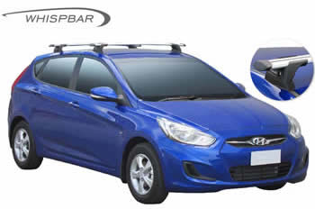 Roof Racks Hyundai Accent Whispbar