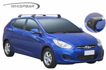 Hyundai Accent roof racks