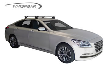 whispbar roof racks Hyundai Genesis