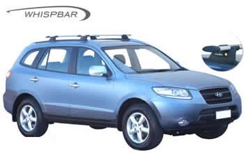 Whispbar roof racks Hyundai Santa Fe 2006
