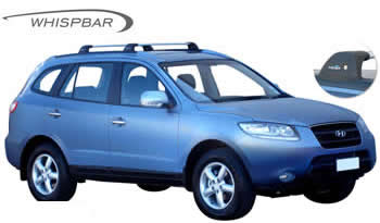 Whispbar roof racks Hyundai Santa Fe