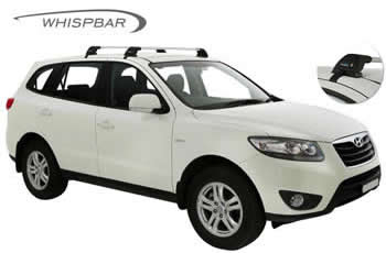 Roof racks fitted to Hyundai Santa Fe