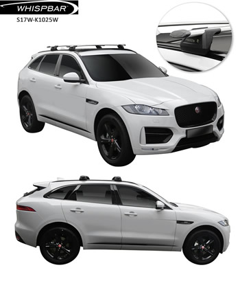 Jaguar F-Pace WHispbar roof racks