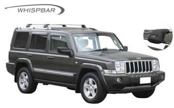 Whispbar roof racks Jeep Commander