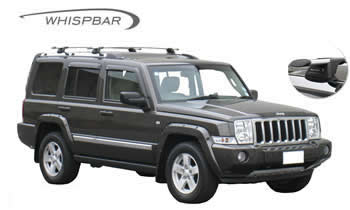 Jeep Commander roof racks