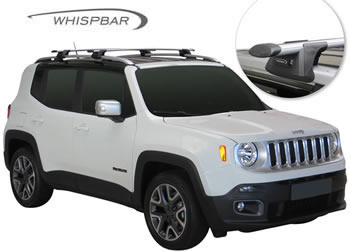 Jeep Renegade Whispbar roof racks