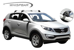 Whispbar roof racks Kia Sportage