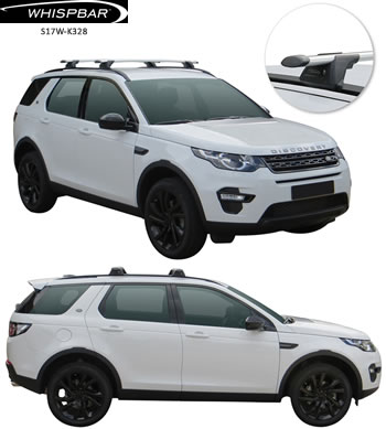 Land Rover Discovery Yakima Whispbar roof racks