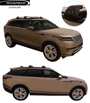 Range Rover Velar Whispbar roof racks