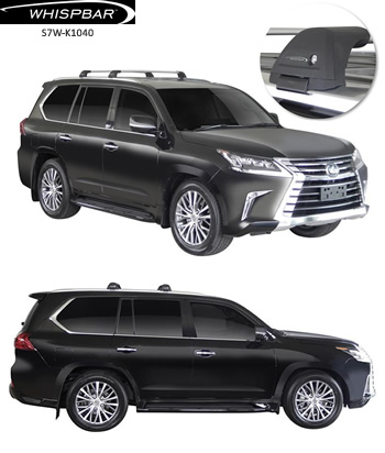 Whispbar roof racks Lexus LX570