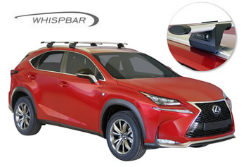 WHispbar roof racks Lexus NX