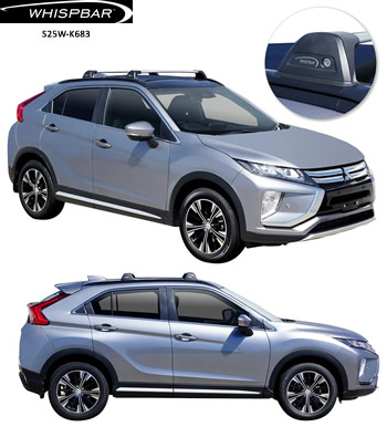 Mitsubishi Eclipse Cross Whispbar roof rack