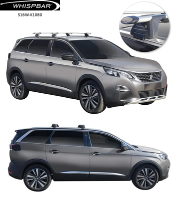 Peugeot 5008 Thule roof racks