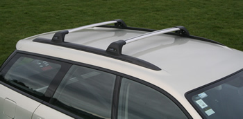 Prorack WHispbar roof rack on SUbaru Outback