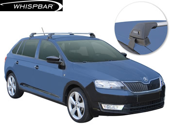 Skoda Rapid Whispbar roof racks