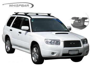Roof Racks fitted to Subaru Forester