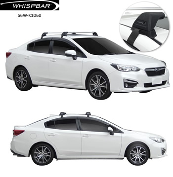 Subaru Impreza roof racks Whispbar
