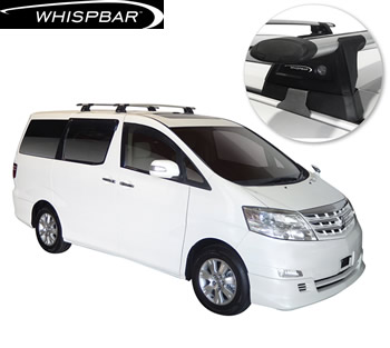 Toyota Alphard Whispbar roof racks