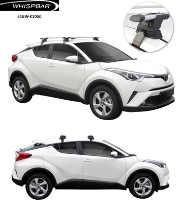 Toyota C-HR roof racks Whispabr S16W-K1050