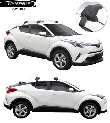 Toyota C-HR roof racks Whispabr S25W-K1050