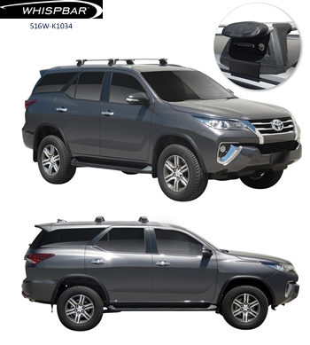 Whispbar roof racks Toyota Fortuner