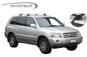 Toyota Kluger roof racks