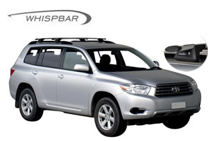 Rail bar roof racks Toyota Kluger