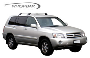Roof racks Toyota Kluger series 1