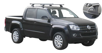 VW Amarok roof racks heavy duty