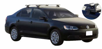VW Jetta Roof Racks