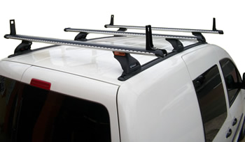 VW Caddy roof racks