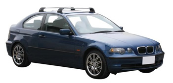 Prorack Roof racks on car