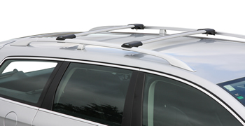 Prorack Whispbar Rail mount roof rack fitted to car