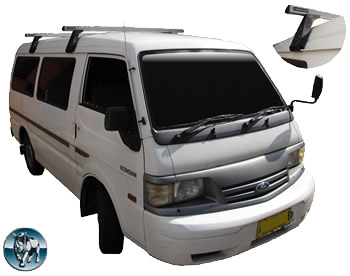 Rhino Rack roof racks for Ford Econovan