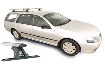 Rhino trackmount roof rack Ford Falcon wagon