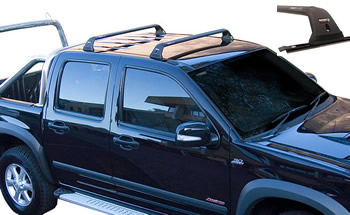 Holden Colorado track mount roof rack