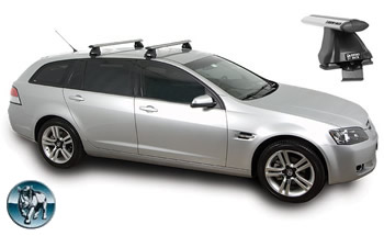 Rhino Aero roof racks VE Sportswagon