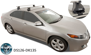 RHino roof racks Honda Accord Euro