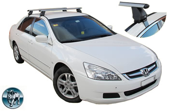 Honda Accord roof racks Rhino