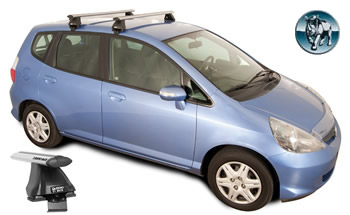 Honda Jazz roof racks