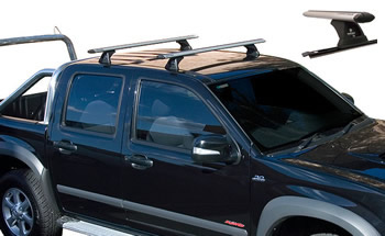 Heavy duty Aero track mount roof rack